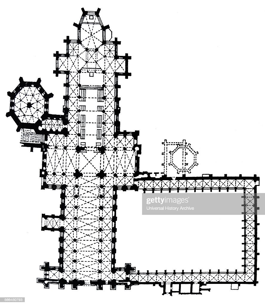 Wells Cathedral Floor Plan Pictures | Getty Images