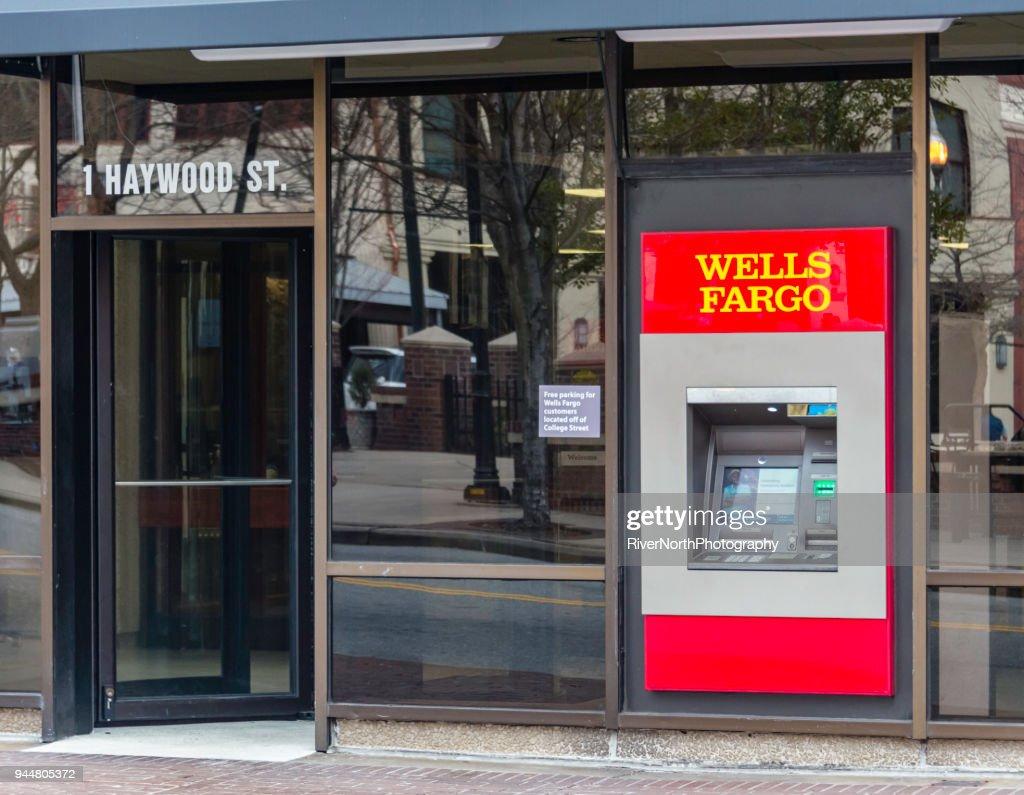 Wells Fargo, Asheville, North Carolina : Stock Photo