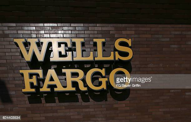 Wells Fargo Bank in Hollywood on November 14 2016 in Los Angeles California