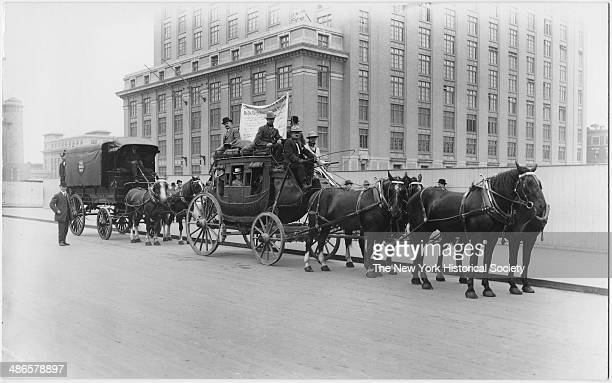 Wells Fargo coach New York City New York New York 1895