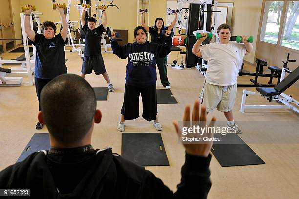 Wellspring Academy of California a boarding school for obese teenagers is the first boarding school for weight loss in the United States Strength...