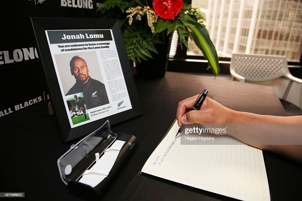 New Zealand Rugby Reacts To The Death Of All Blacks Legend Jonah Lomu : News Photo