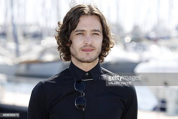 Welsh actor Alexander Vlahos poses during a photocall for the series Versailles during the MIPTV in Cannes on the French Riviera on April 14 2015 AFP...