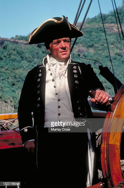 Welsh actor Anthony Hopkins as Captain Bligh in the film 'The Bounty' 1984