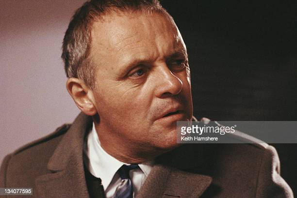 Welsh actor Anthony Hopkins as Dafydd Ap Llewellyn in the film 'A Chorus of Disapproval' 1989