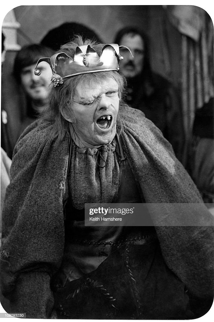 Welsh Actor Anthony Hopkins As Quasimodo In The Film The Hunchback Of Notre Dame