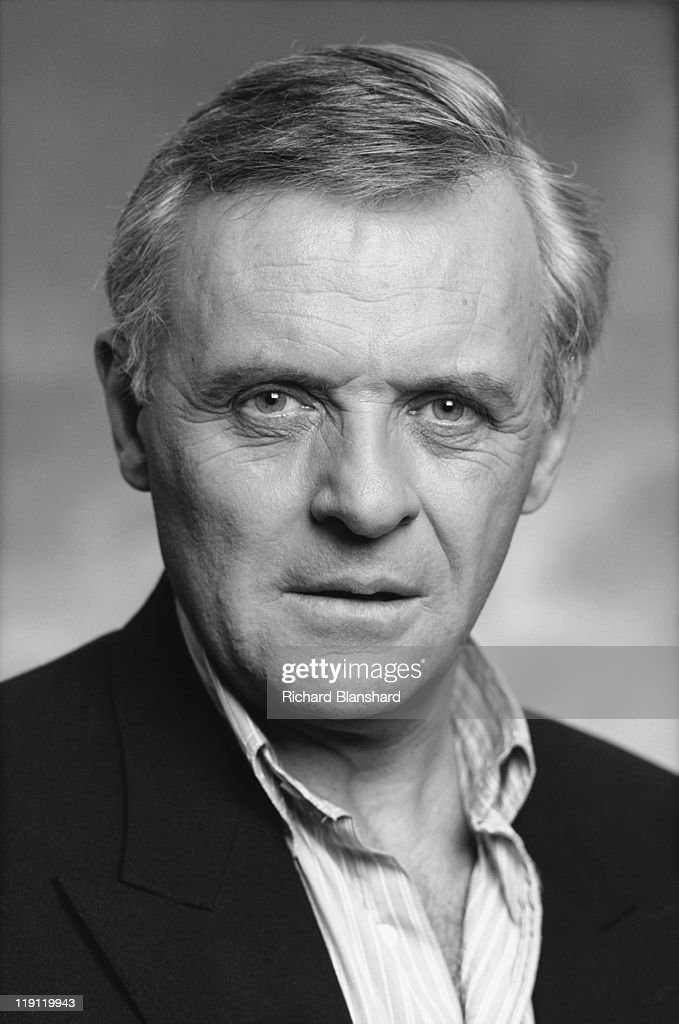 Welsh actor Anthony Hopkins, circa 1992.