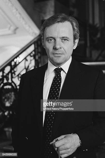 Welsh actor Anthony Hopkins who appears in the television series 'A Married Man' pictured in London on 17th December 1982