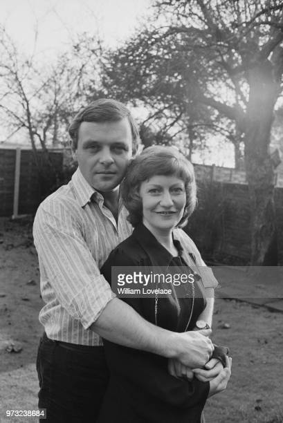 Welsh actor Anthony Hopkins with his fiancee Jennifer Lynton UK 18th December 1972
