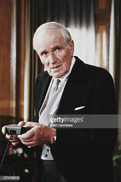 Welsh actor Desmond Llewelyn as Q the James Bond film 'A View To A Kill' 1984