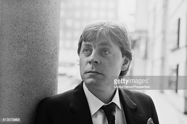 Welsh actor Hywel Bennett in London on 22nd January 1986.