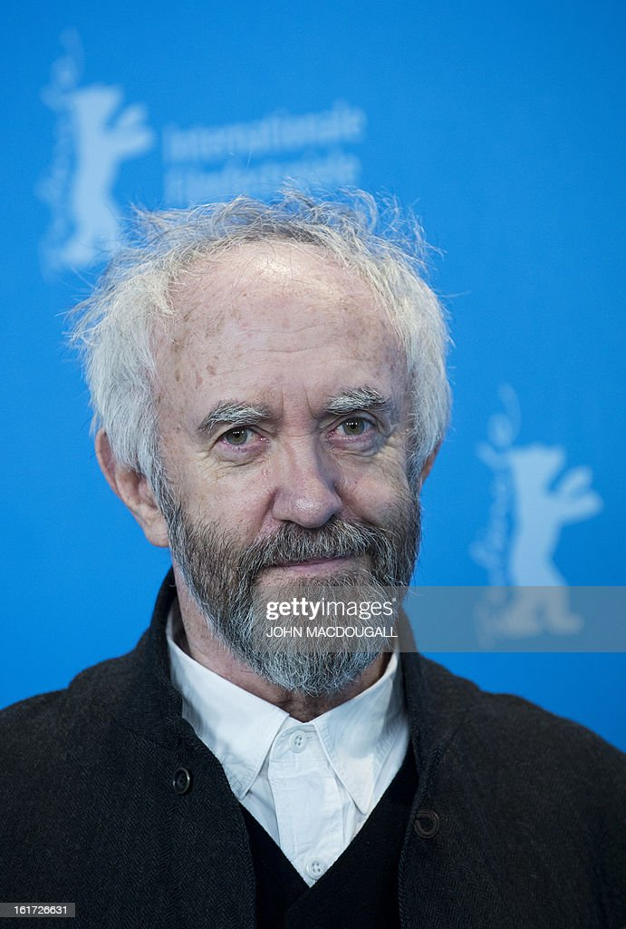 Welsh actor Jonathan Pryce poses during a photocall for the film Dark Blood competing in the 63rd Berlinale Film Festival in Berlin February 14, 2013.