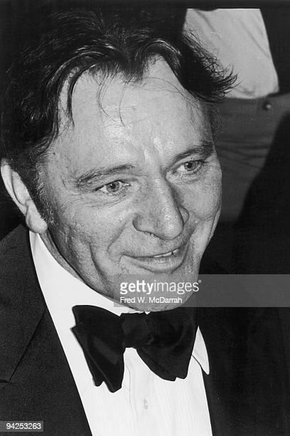 Welsh actor Richard Burton at the Tony Awards New York New York April 16 1976 Burton received a Special Award