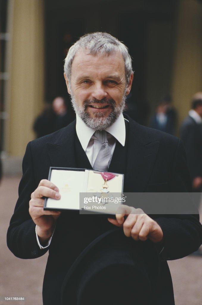 Sir Anthony Hopkins : News Photo