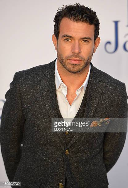 Welsh actor Tom Cullen arrives for the UK premier of Blue Jasmine in London on September 17 2013 Written and directed by US director writer and actor...