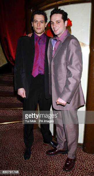Welsh actors Ioan Gruffyd and Matthew Rhys at the premiere of the film 'Shooters' at Planet Hollywood in London * The film directed by Colin Teague...