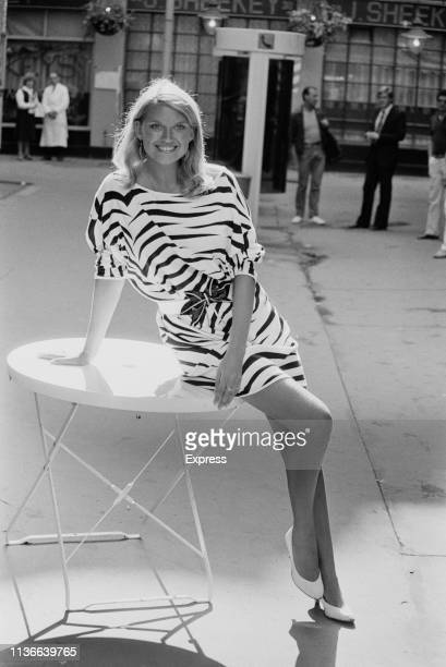 Welsh actress and broadcaster Anneka Rice UK 27th September 1983