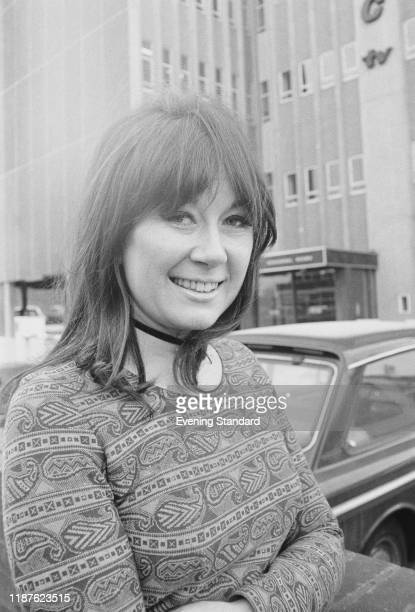 Welsh actress and narrator Nerys Hughes UK 4th February 1971