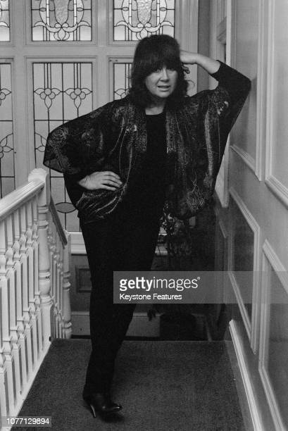 Welsh actress Nerys Hughes at her home in Putney London 12th January 1982