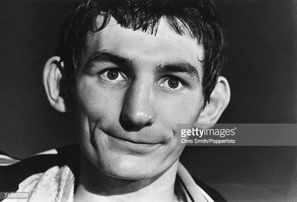 Welsh bantamweight boxer Johnny Owen , late 1970s. Known as the Matchstick Man Owen died after a title fight with Lupe Pinto.