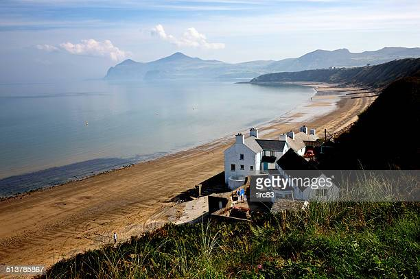 Welsh beach scene on the Lleyn Peninsula