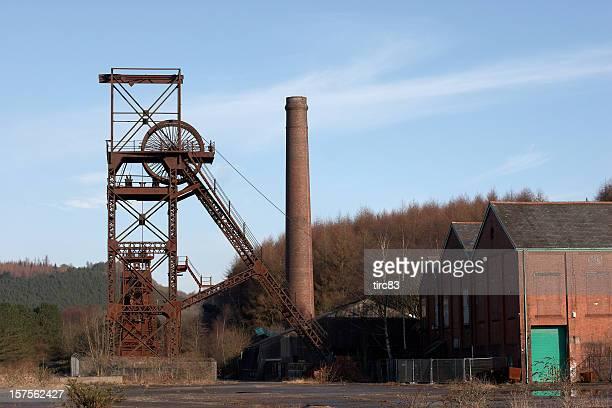 Welsh coalmine pithead