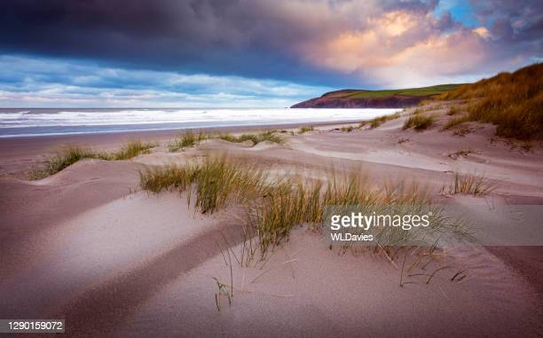 welsh coastline - coastline stock pictures, royalty-free photos & images