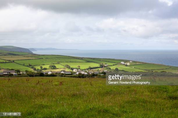 welsh coastline - geraint rowland stock pictures, royalty-free photos & images