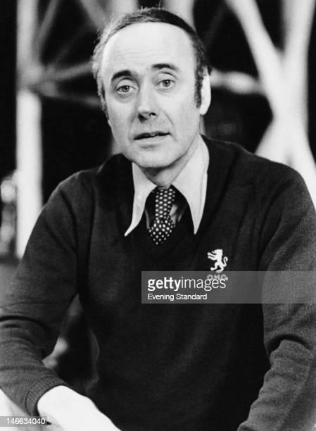 Welsh comic actor Victor Spinetti November 1980