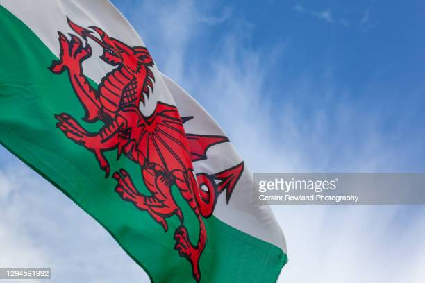welsh dragon - newport wales stock pictures, royalty-free photos & images