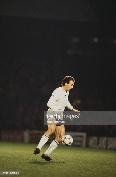 Welsh footballer Alan Curtis playing for Swansea City circa 1980