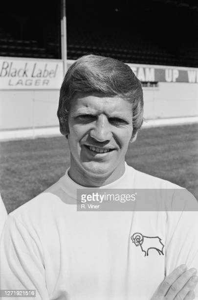 Welsh footballer Alan Durban of Derby County FC, 1972.