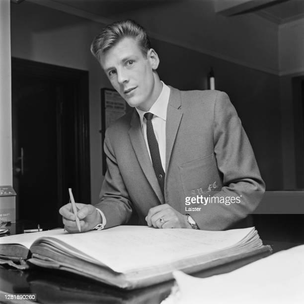 Welsh footballer Gil Reece of Sheffield United FC, UK, 30th September 1965.