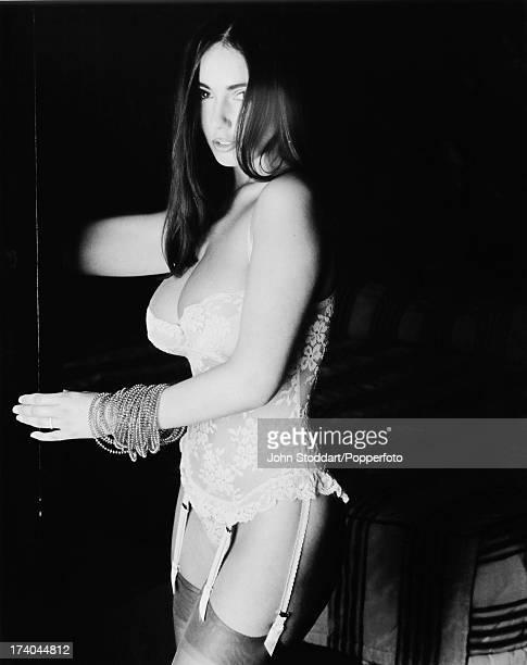 Welsh glamour model Kathy Lloyd circa 1994
