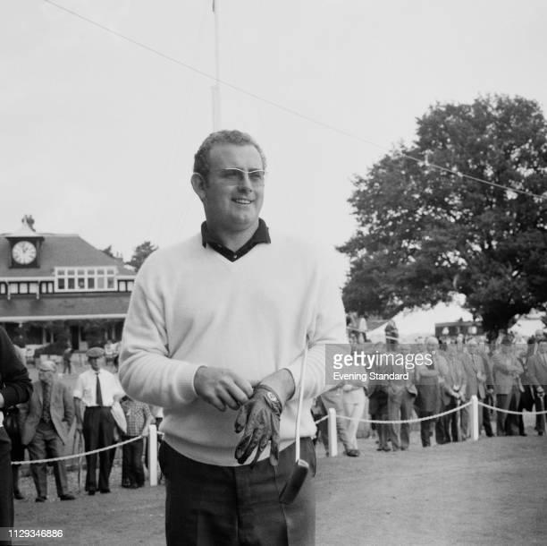 Welsh golf player Dave Thomas at Sunningdale Golf Club Ascot UK 1st October 1968