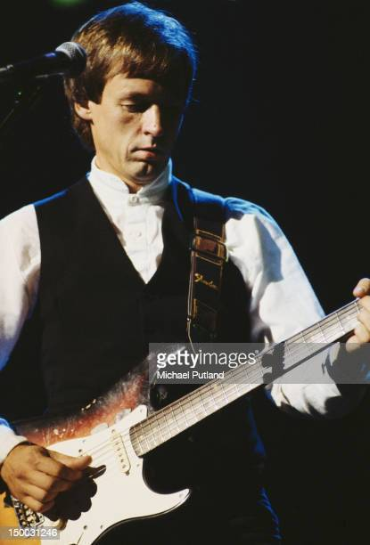 Welsh guitarist and singer Andy Fairweather Low circa 1975