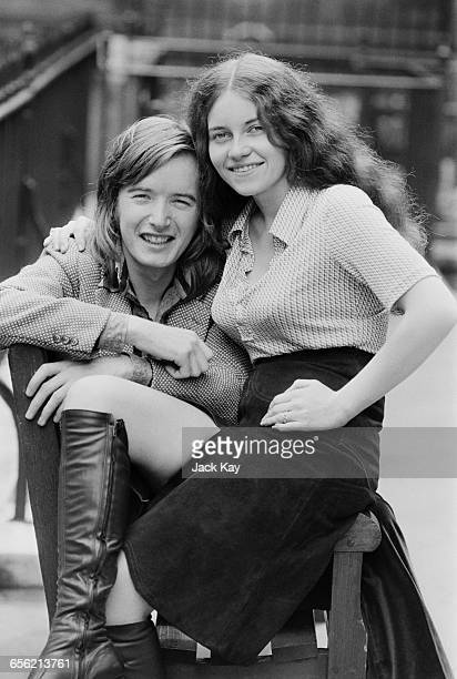 Welsh guitarist Kim Simmonds of blues rock band Savoy Brown and Madeleine UK 17th August 1971