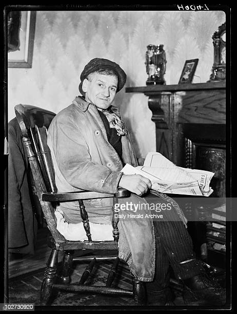 Welsh miner 1940 A photograph of William a South Wales miner taken by Tomlin for the Daily Herald newspaper on 28 January 1940 William is pictured in...