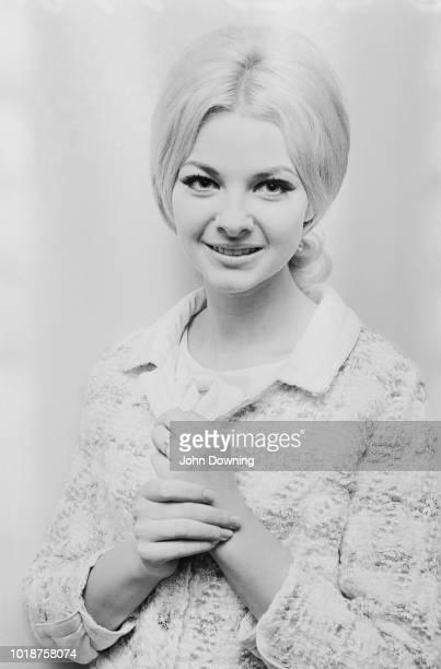 Welsh model and showgirl Mandy RiceDavies UK 19th September 1966