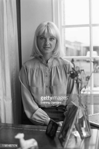 Welsh model and showgirl Mandy RiceDavies UK 7th November 1980