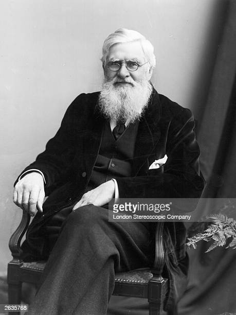 Welsh naturalist Alfred Russel Wallace