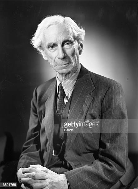 Welsh philosopher, writer and mathematician Bertrand Russell .