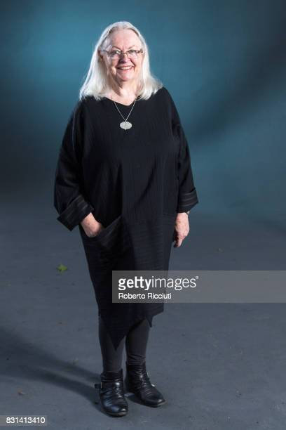 Welsh poet playwright editor broadcaster lecturer and translator Gillian Clarke attends a photocall during the annual Edinburgh International Book...