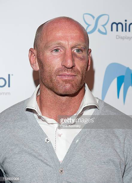 Welsh Pro Rugby Player Gareth Thomas attends the 46th annual National Magazine Awards at 583 Park Avenue on May 9 2011 in New York City