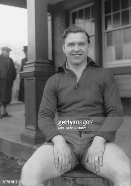 Welsh rugby player Bleddyn Williams circa 1950