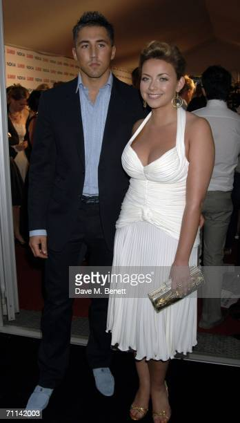 Welsh rugby player Gavin Henson and girlfriend singer Charlotte Church arrive at the Glamour Women Of The Year Awards the annual awards recognising...