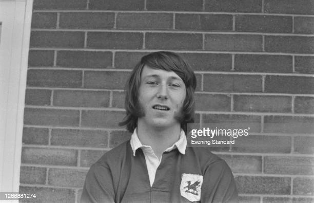 Welsh rugby union player JPR Williams of the London Welsh RFC, UK, December 1971.
