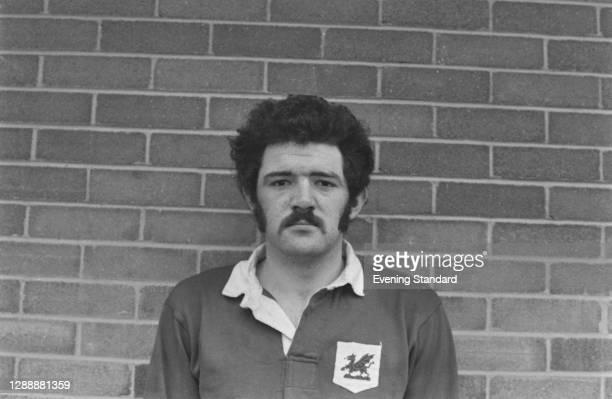 Welsh rugby union player Mervyn Davies of the London Welsh RFC, UK, December 1971.