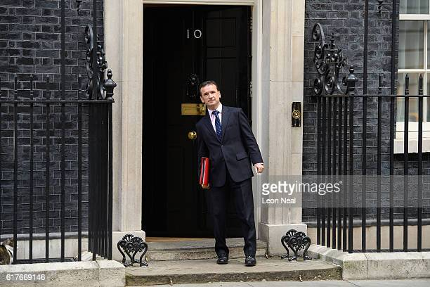 Welsh Secretary Alun Cairns arrives ahead of a meeting between British Prime Minister Theresa May and the leaders of the three devolved governments...