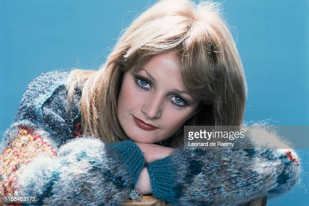 Welsh singer Bonnie Tyler Paris January 1979